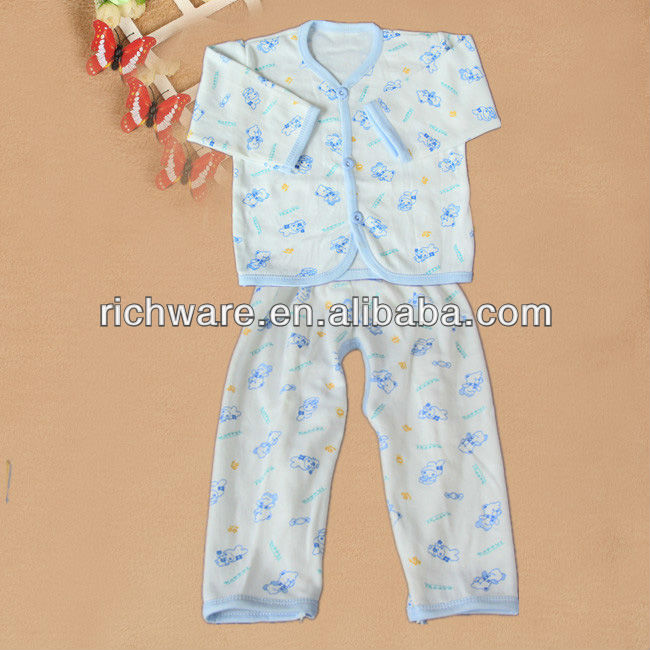 Wholesale Baby Cotton Night Suits