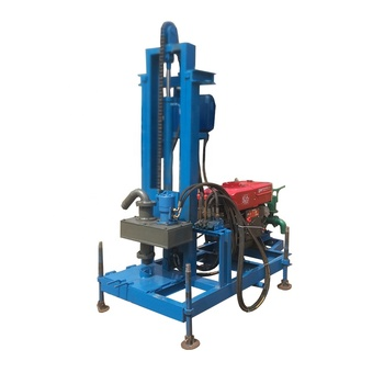 Full hydraulic durable AKL-150P diesel engine hydraulic small bore well drilling machine
