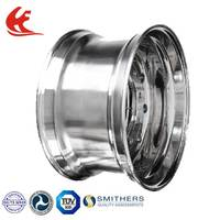 22.5*8.25 Forged Aluminum Alloy Tubeless Semi Truck Wheels