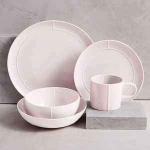 Factory hot sale pink modern arcopal dinnerware / bone china dinnerware sets