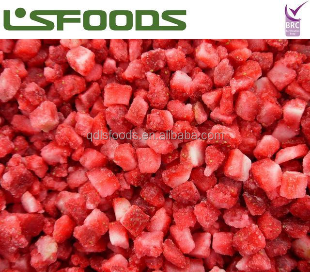 Frozen Strawberry IQF Dices Am13/Sweet Charlie/Honey