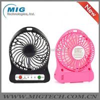 5v usb powered cooling fan Portable Rechargeable USB Desk Pocket, Handheld Travel Blower Air Cooler, mini USB fan