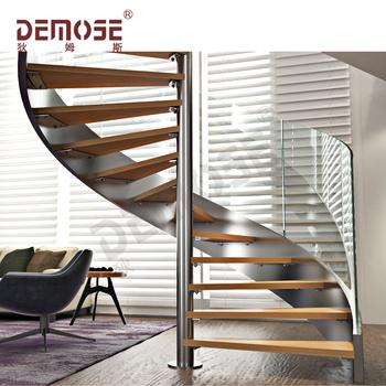 Escalera En Espiral Para Espacios Pequeñosescaleras Diseños De Madera Interior Buy Escaleras Diseño Interior De Maderaescaleras Para Espacios