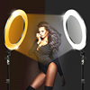 /product-detail/60w-5500k-256leds-18-inch-circular-dimmable-camera-photography-studio-video-lamp-led-ring-light-62041121207.html