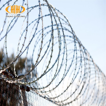 Hot Sale High Quality Razor Barbed Wire/ Military Concertina Wire ...