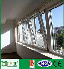 Aluminum Tilt/Turn Window With Buit-In Blinds/Internal ,tilt open window PNOC201TTW