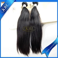 KBL real 100% soft hair beads, top quality hair weft silky straight micro bead hair extensions kits