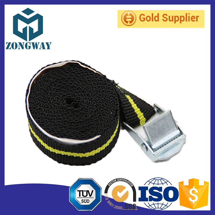 2 pcs/set Wheelchair tie down ratcheting buckle with ladder strap cambuckle