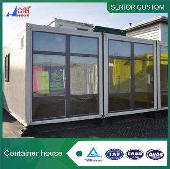 1 bedroom mobile living container homes