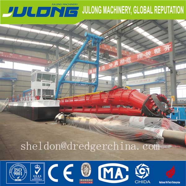 12 inch dredging equipment for desilting water way