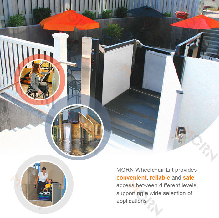 Hydraulic Vehicle Home Outdoor Wheelchair Platform Lift Buy Wheelchair Platform Lift Home