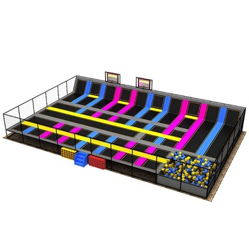 Worldstar manufacture child theme amusement trampoline park for sale
