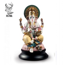 Outdoor garden home decoratie India levensgrote glasvezel <span class=keywords><strong>ganesha</strong></span> hars standbeelden