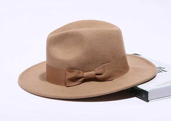 Buy Wholesale Classic Mens Wool Fedora Hats Quality Winter Women Felt Fedora  Hat Ribbon Bowknot Men Plain Trilby Caps Spring Autumn in Cheap Price on ... f6617b66de1
