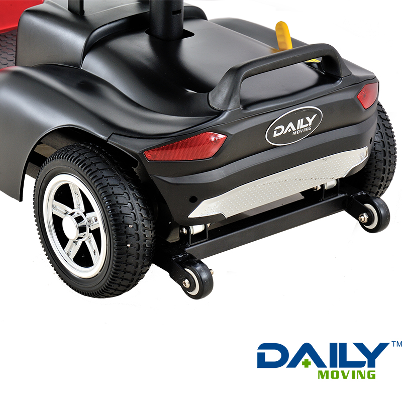 Lightweight Portable Folding 4 Wheel Electric Mobility Scooter