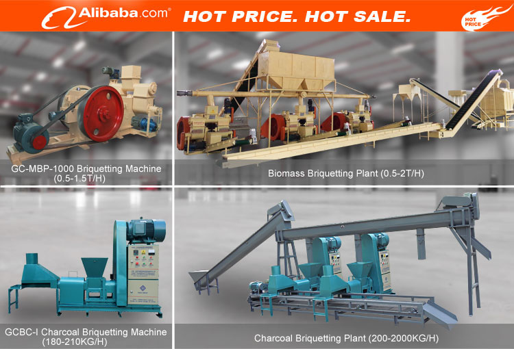 Factory price BEST home screw extruder biomass wood sawdust charcoal mini briquetting press project small briquette machine