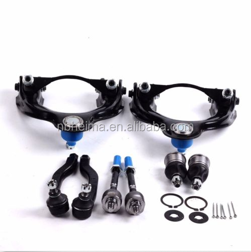 8Pcs Suspension Control Arm Ball Joint Tie Rods Kit Set Suspension for Honda Civic