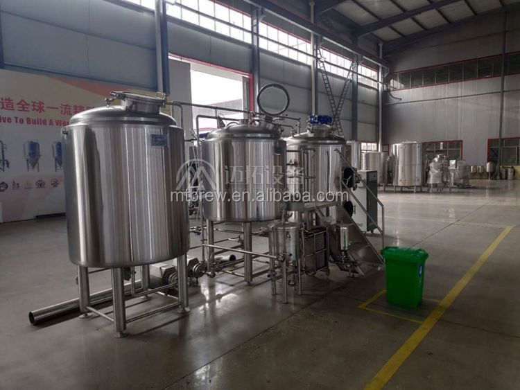METO Turkey project 3 years warranty 300L, 500L Microbrewery equipment