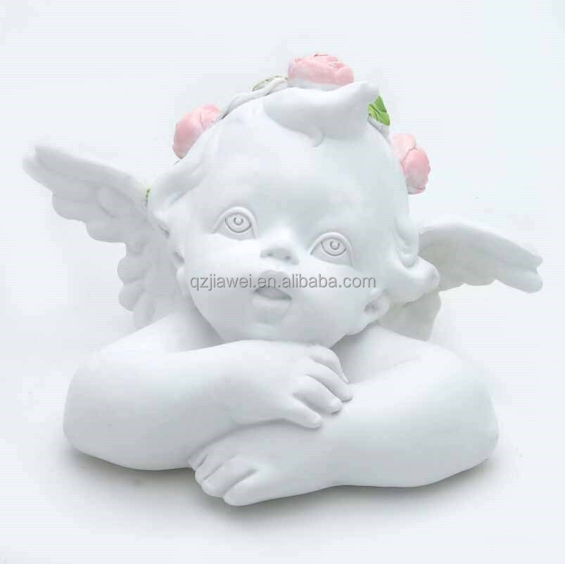 Wholesale $1 Cheap Small Little Angel Figurines Polyresin Angels Crafts
