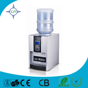 Tube Ice Maker with water dispenser bullet ice making function