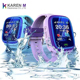 1.22'' Screen IP67 Waterproof swimming smart baby watch GPS Positioning Kids smart Watch