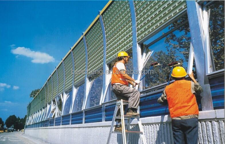 Railway Noise Reduction Barrier - Buy Railway Noise Reduction  Barrier,Railway Crossing Barrier,Noise Barrier Panel Product on Alibaba com