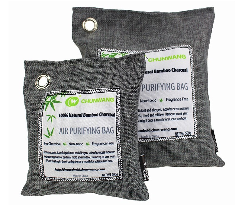 200G bamboo charcoal <strong>air</strong> purifying bags for cars, pet areas
