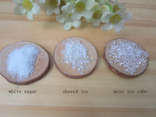 Fake Sugar Powder Artificial shaved Ice Mini Ice Cube For DIY Decoration