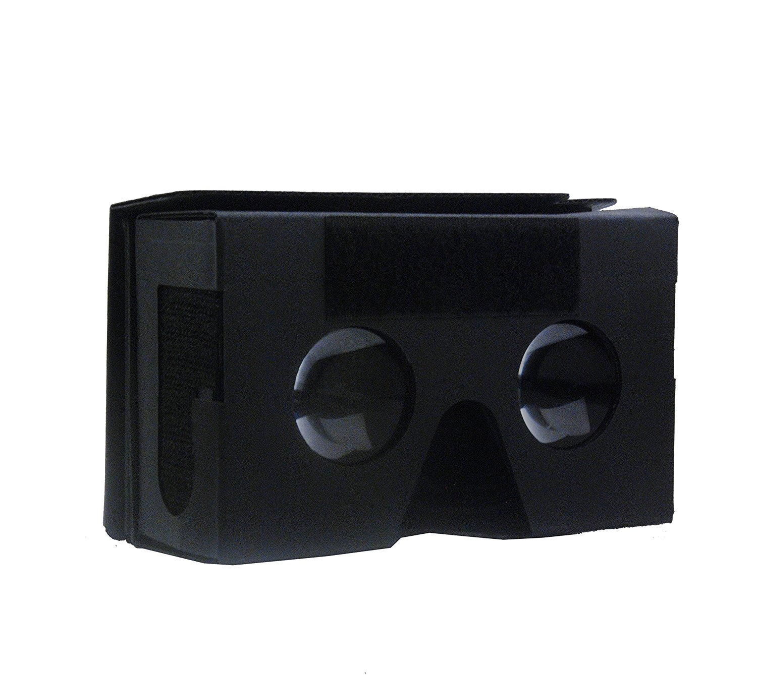 "3D VR Virtual Reality Headset 3D Glasses Adjust Cardboard VR BOX For 3.5~6.0"" Smartphones iPhone 6/6 plus Samsung Galaxy IOS Android Cellphones + Controller (Black+White)"