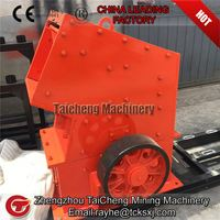 Small hammer crusher for glass recycling from Taicheng