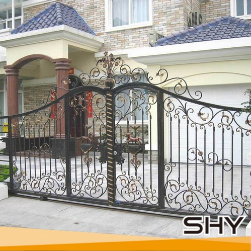 Home gate grill design main gate designs by china buy for Best house grill design