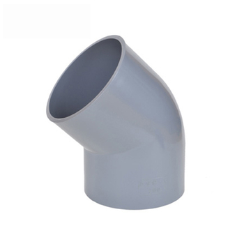 Din PN10 Standard Plastic PVC UPVC Pipe Fittings 135 Degree and 45 Degree Deg Elbow