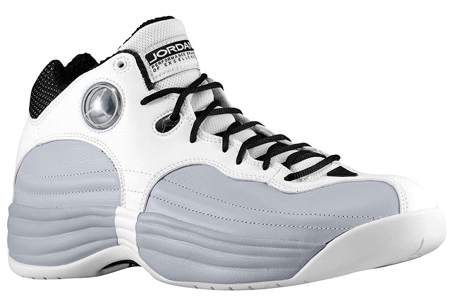 ... where to buy get quotations jordan jumpman team 1 mens basketball shoes  white white wolf grey f7e9596fe