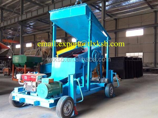 portable gold refining machine