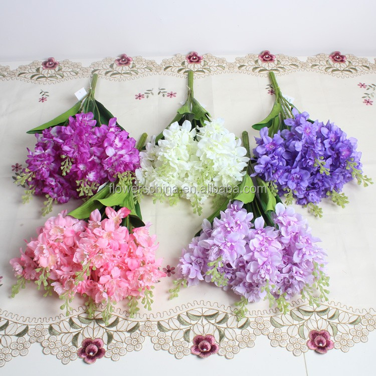cheap price fabric plant flower for bedroom decor