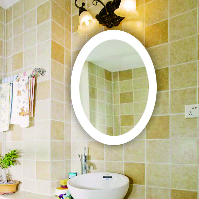 Wholesale Contemporary Style Illuminated Feature Bathroom Vanity LED Mirror With Light