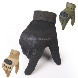 Black cycling tactical military airsoft police outdoor army shooting sports gloves