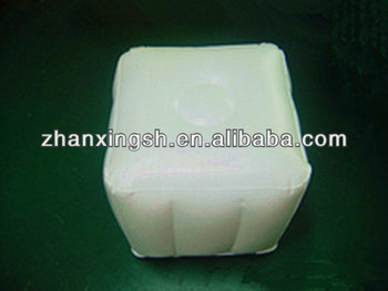 Deluxe Pvc Inflatable Air Square Stool Inflatable Foot