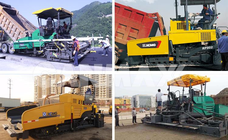 China sistema de projetos RP452L mini roda pavimentadora de asfalto venda paquistão