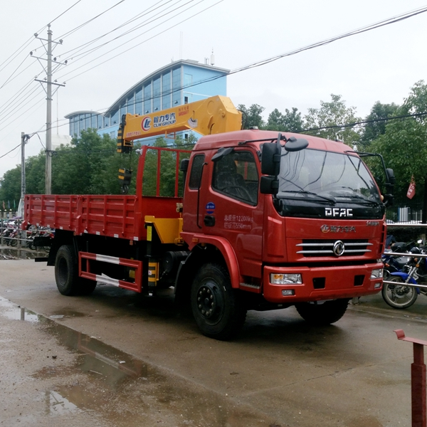 crane cargo truck used truck crane from China factory