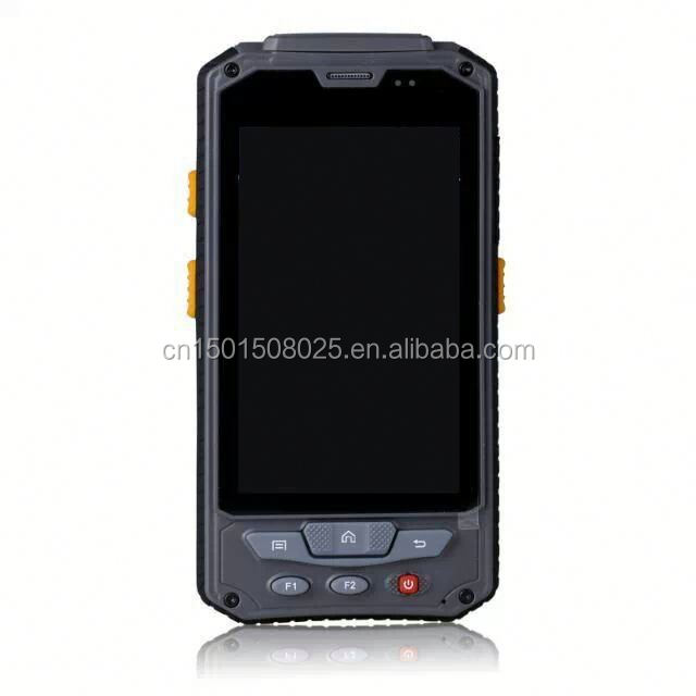 supplier bluetooth se4500 wifi gps 3G 2D pda for parking lot with thermal printer