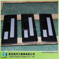 touch screen glass with silk screen printing for ice maker