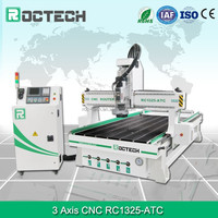 high quality 3 axis rc1325-ATC wood cnc router engraver machine for wooden door,cnc milling and drilling machinery for cabinet