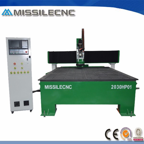 High value automatic tool change spindle aluminum cnc router 2030