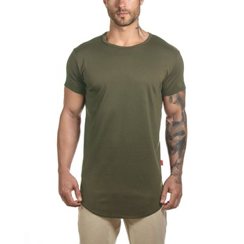 Fashion Muscle Online Shopping India Plain Running Fitness Clothing Compression Dry Fit T Shirt