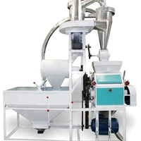 Industrial Factory Supply Mini Maize Corn Flour Mill Machine