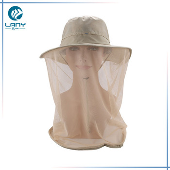 236183ed7831b Mosquito Net Hat outdoor Fishing Hat With Mosquito Net - Buy ...