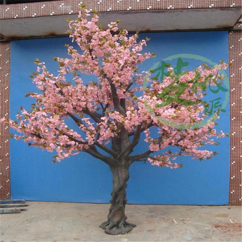 Floraison en plastique blossom arbre cerisier artificielle for Arbres en plastique artificiels