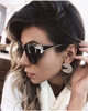 M556 Luxury Diamond Cat Eye Shades Sunglasses Women Unique Brand Designer Sun Glasses UV400 CE