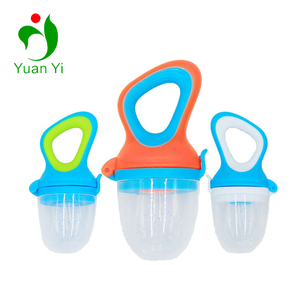 2018 New Design FDA Silicone Chewing Fruit Feeder Baby Food Pacifier